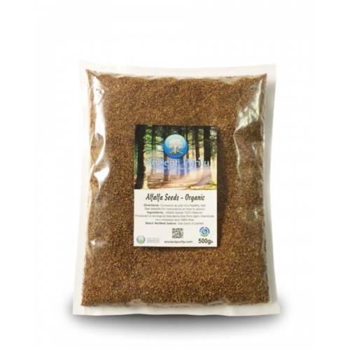 Alfalfa Seeds Organic - 500g