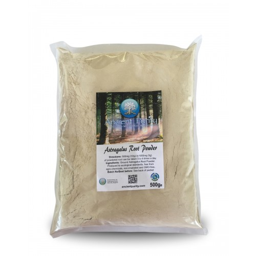 Astragalus Root Powder (Longevity) 500g