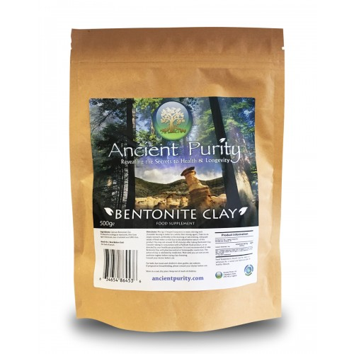 Bentonite Clay - 500g (Detox / Cleanse / Thrive)