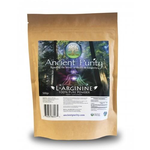 L - Arginine - 500g (100% Pure)