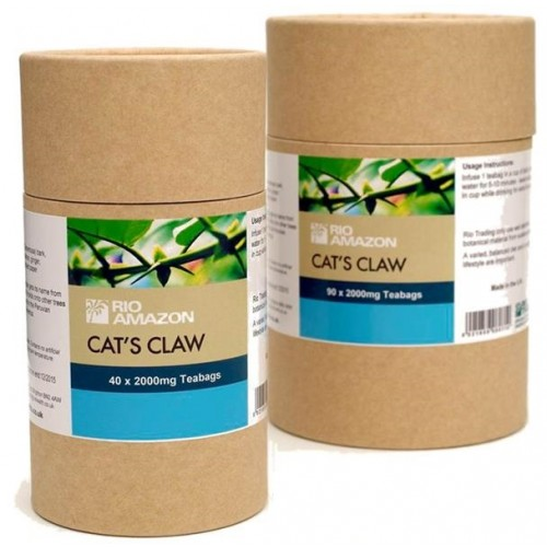 Cats Claw Teabags 40/90