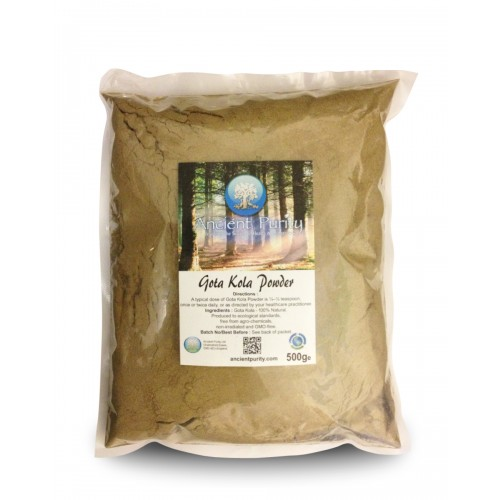 Gotu Kola Powder- 500g (Mind Body Spirit)
