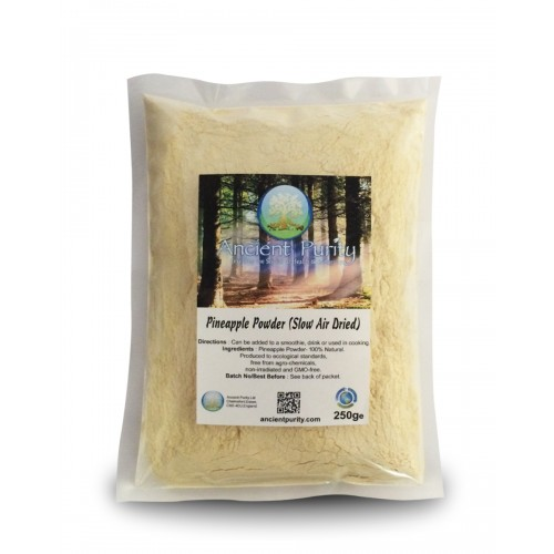 Pineapple Powder (slow air dried) 250g