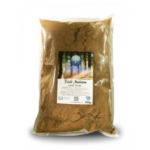 Reishi Mushroom Ground Powder - 500g (Medicinal Mushroom)
