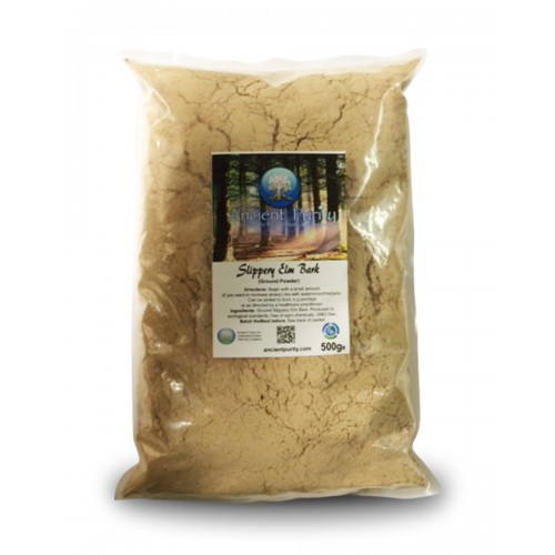 Slippery Elm Bark Powder - 500g