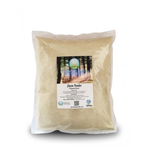 Yacon Powder (Organic / Raw) 500g