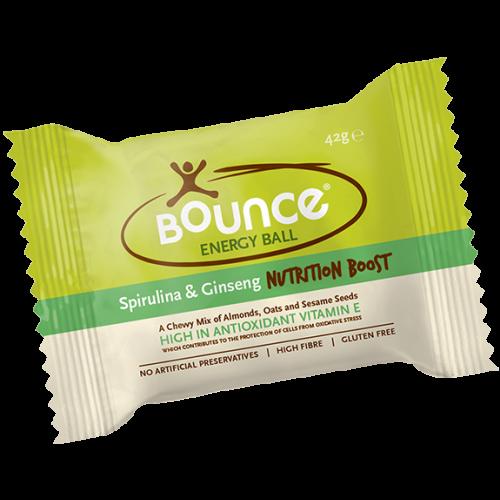 Spirulina & Ginseng Ball (Bounce) Nutritional Boost - 42g