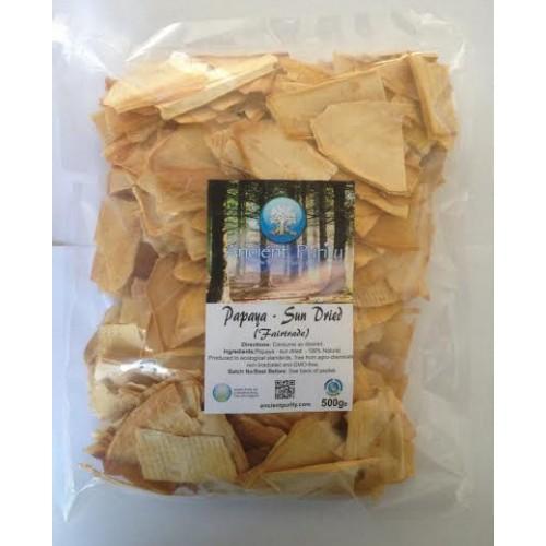 Papaya - Sun Dried (Fair Trade) 500g