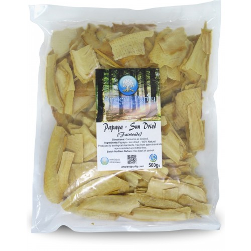 Papaya - Sun Dried (Fair Trade) 500g