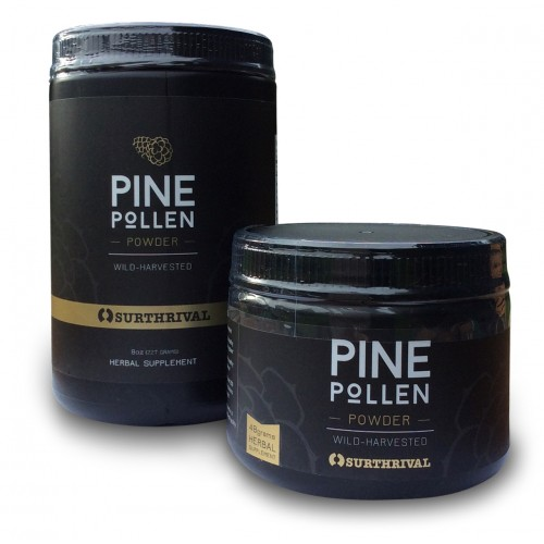 Pine Pollen Powder - 48g / 227g (Surthrival Perpetual Youth)