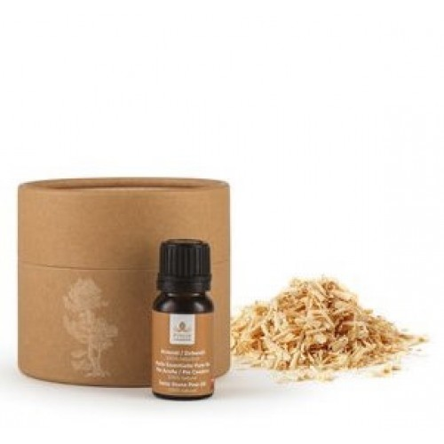 Swiss Stone Pine Diffuser Refil - Essential Oil, Box & Pine Shavings - 10ml