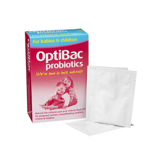 Babies & Children Probiotics - 30 Sachets (Digestion, immunity, problems, skin)