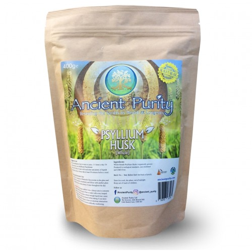 Psyllium Husk Whole (Weight-loss/Fibre/Detox) 400g