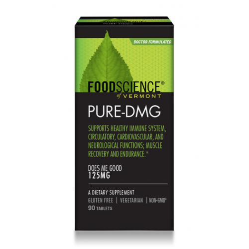 DMG - Pure - 90 Tabs (125mg) FoodScience of Vermont
