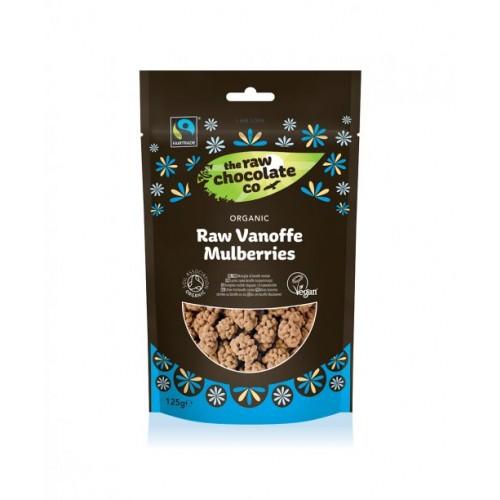 Vanoffe Mulberries - Raw Chocolate (Organic) 125g