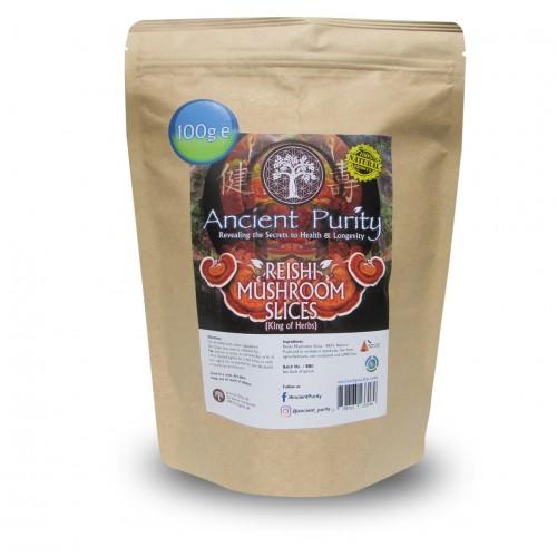 Reishi Mushroom Slices (Medicinal Mushroom) 100g
