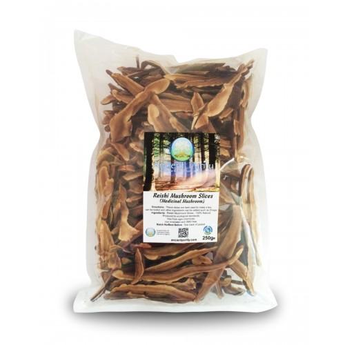 Reishi Mushroom Slices - 250g (Medicinal Mushroom)