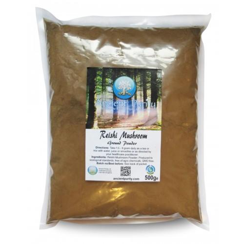 Reishi Mushroom Powder 250/500g (Medicinal Mushroom)