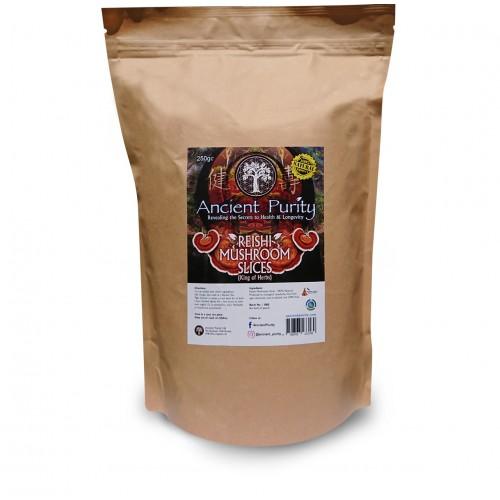 Reishi Mushroom Slices (Medicinal Mushroom) 250g
