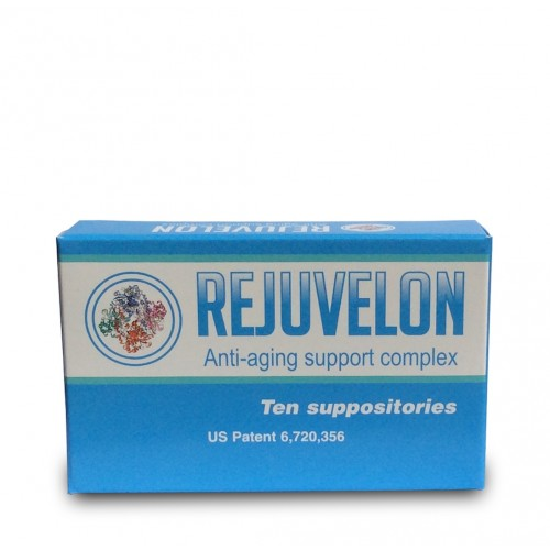 Rejuvelon (Anti-Ageing Support Complex) 10 Suppositories