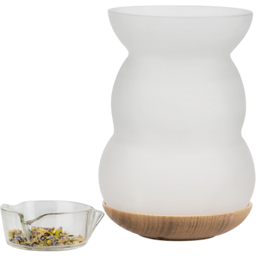 Incense burner & aroma-oil diffuser