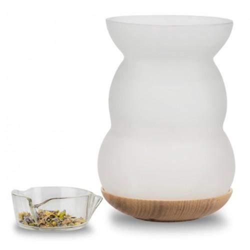 Incense burner & aroma-oil diffuser (Lucerna)