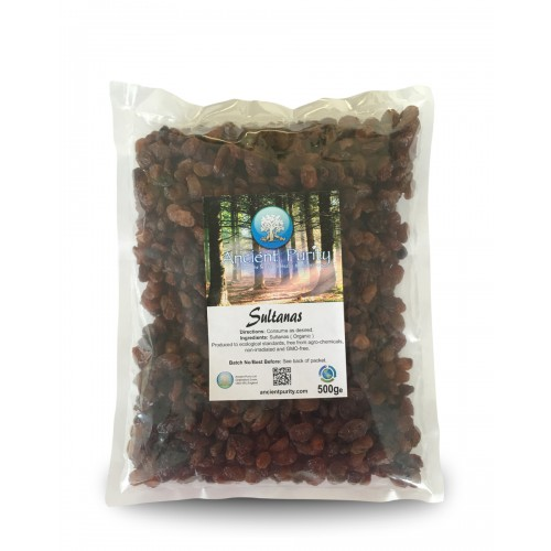 Sultanas - 500g (Organic)