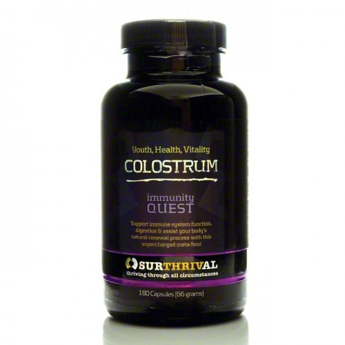 Colostrum - 180 Capsules (Surthrival Colostrum UK)
