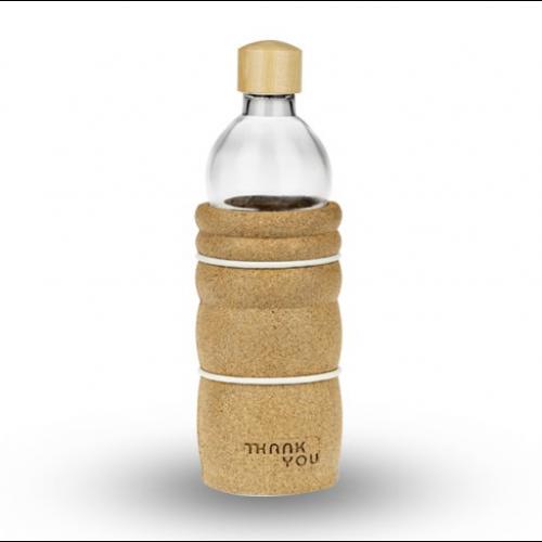 Glass Eco-Bottle (Thank You) - 500ml