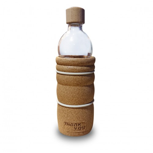 Glass Eco-Bottle (Thank You) 500ml