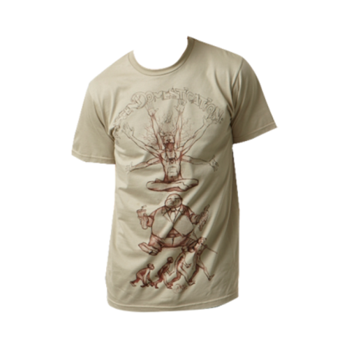 Transcend Domestication (Men's) T-shirt 100% Organic Cotton