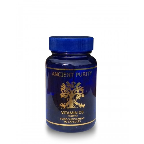 Vitamin D3 (10,000iu) High-Strength - 90 softgels