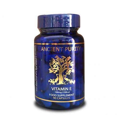 Vitamin E (150iu/100mg) - 60 Capsules (Food Based)