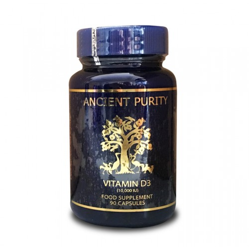Vitamin D3 - 90 Capsules (10,000iu)