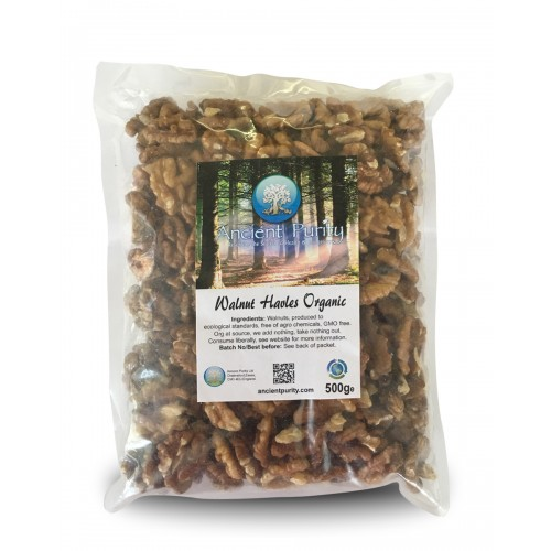 Walnut halves Organic - 500g