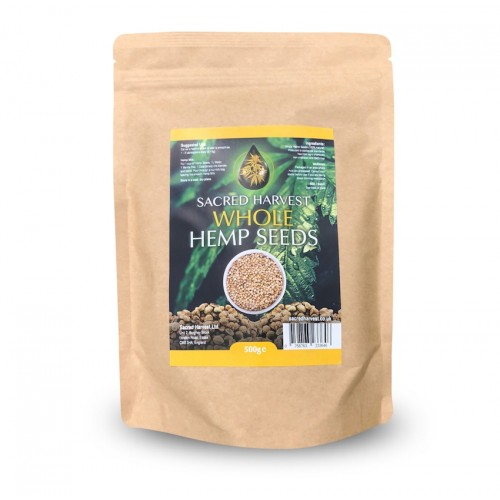 Hemp Seeds (Whole) with Shell - 500g