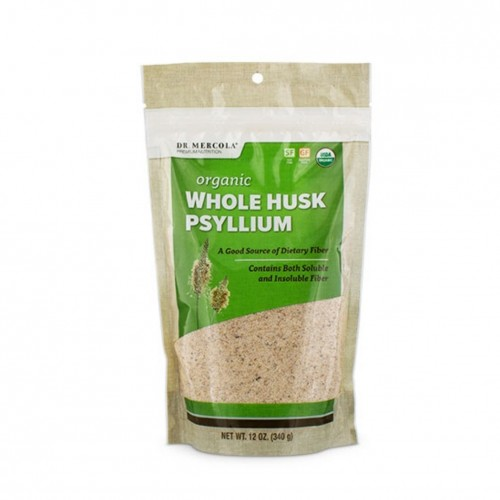 Psyllium Husk Whole (Mercola) 340g - Fibre