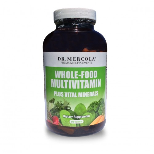 Dr Mercola Whole-Food Multi Vitamin / Minerals 240 Tablets