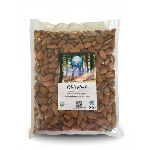 Almonds Whole Organic - 500g