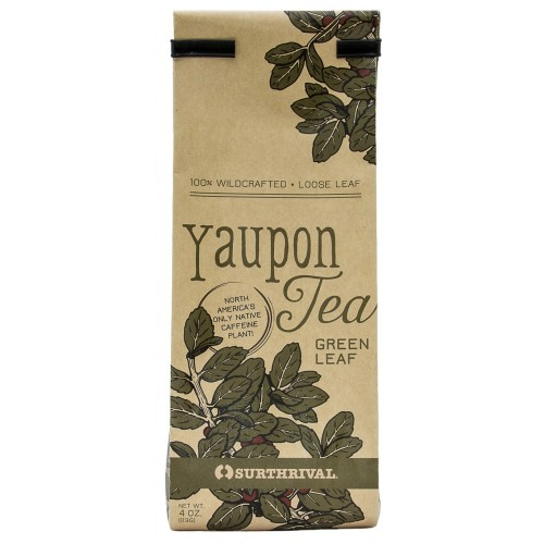 Yaupon Tea - Green Leaf (113g) Loose Leaf
