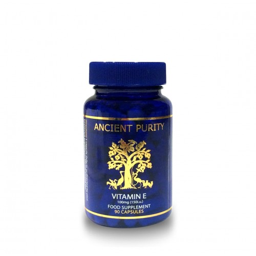 Vitamin E (150iu/100mg) - 90 Capsules (Food Based)