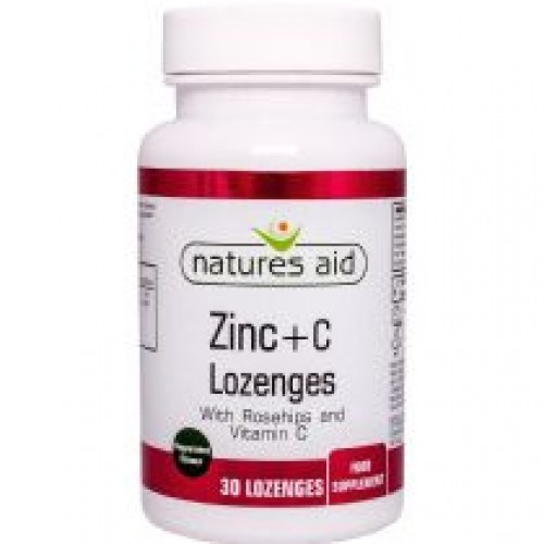 Zinc Vit C & Rosehip Lozenges - 30 (cold & flu)