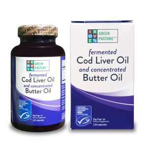 Fermented Cod Liver / Butter Oil Capsules