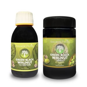 Green Black Walnut Hull