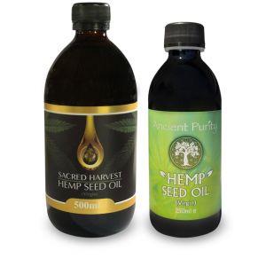 Hemp Seed Oil - Raw/Virgin