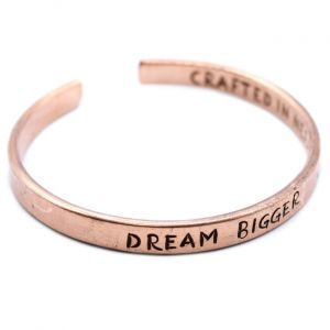 Inspiration Copper Bracelet