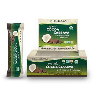 Cocoa Cassava Bars