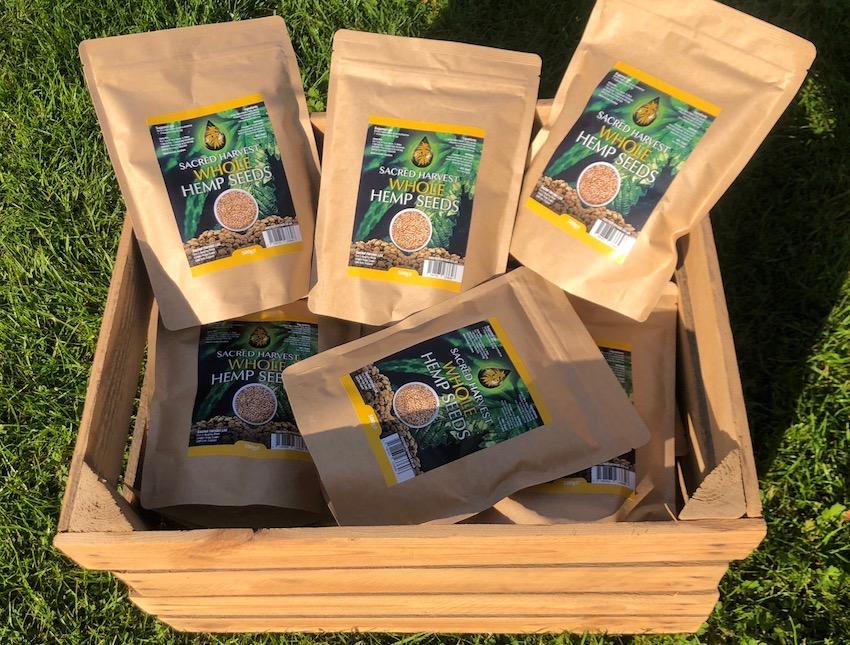 organic whole shelled hemp seeds sacred harvest ancient purity