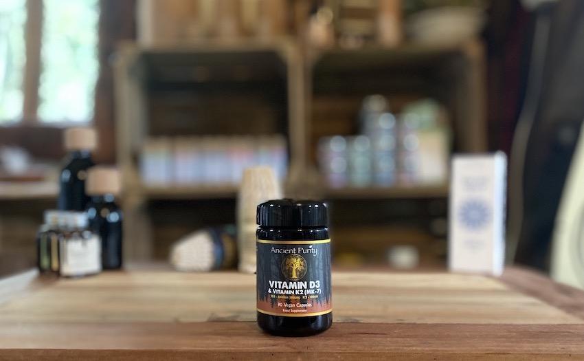 vegan vitamin d3 with vitamin k2 supplement