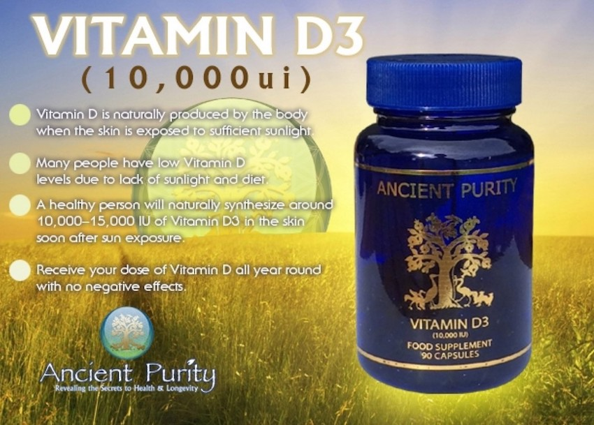 how to take vitamin d3